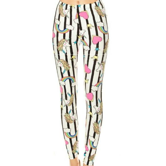 Pants - Marshmallow Unicorn Leggings